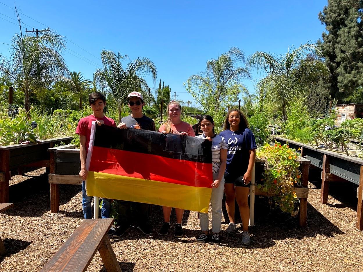 German-School-campus-Newport-Beach-Honor-Society-Students-Project