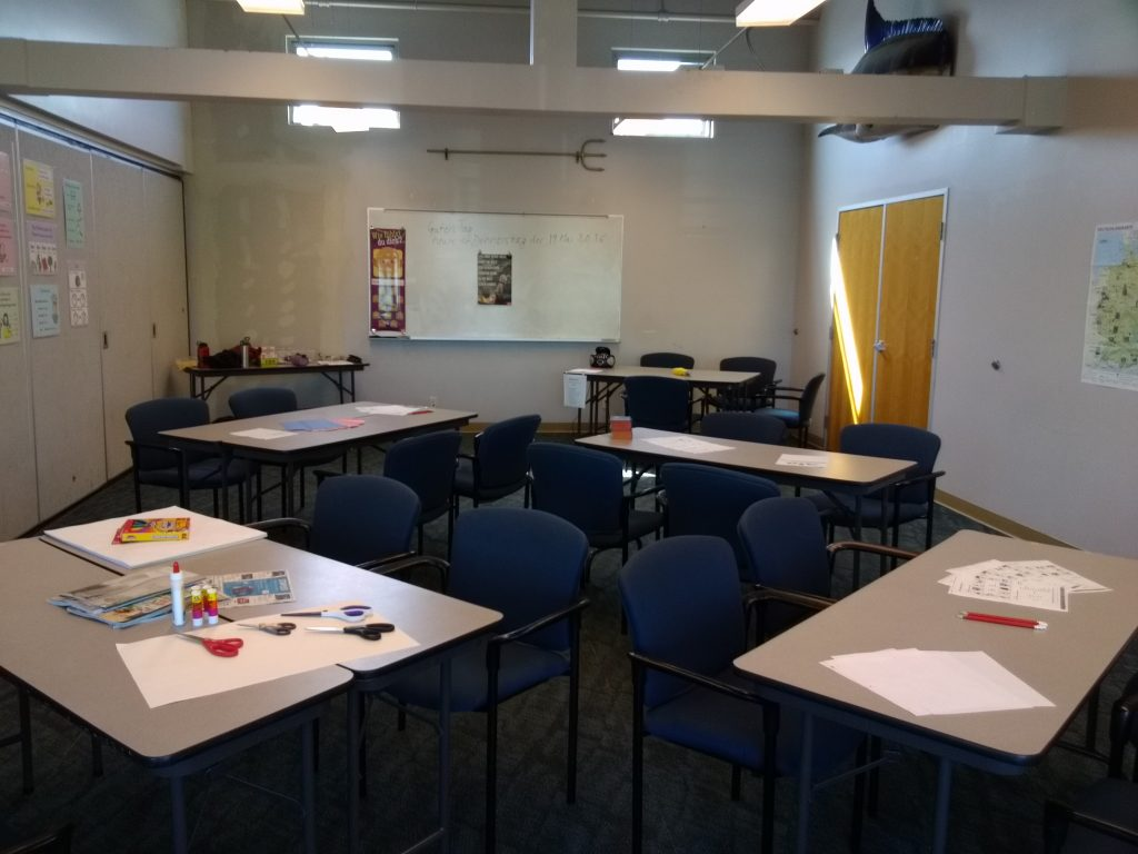 German School campus Classroom