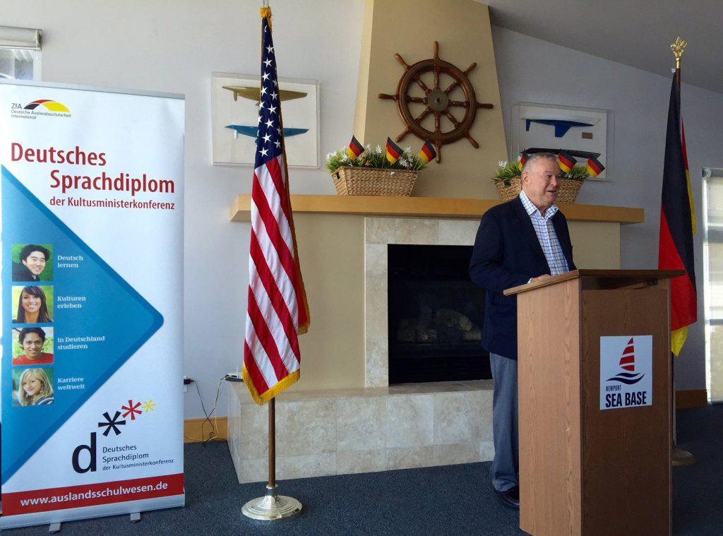 Congressman Dana Rohrabacher GERMAN SCHOOL campus Grand opening speech