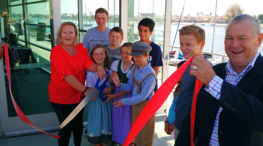 GERMAN SCHOOL campus Ribbon Cutting