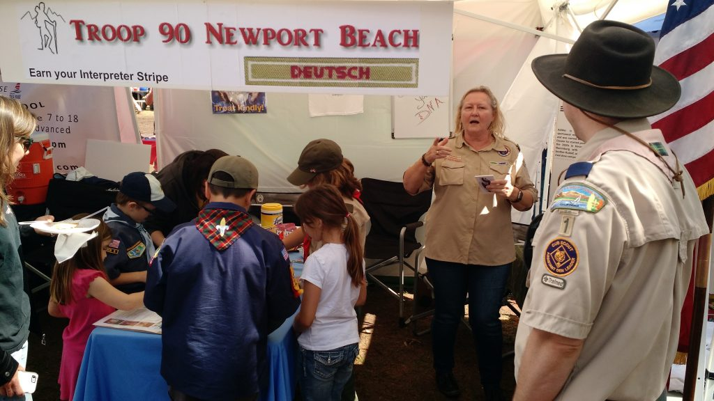 Ursula Schoeneich Principal of GERMAN SCHOOL campus Newport Beach Seabase