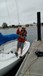 Sailing a great activity