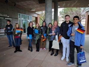 Students of German School campus
