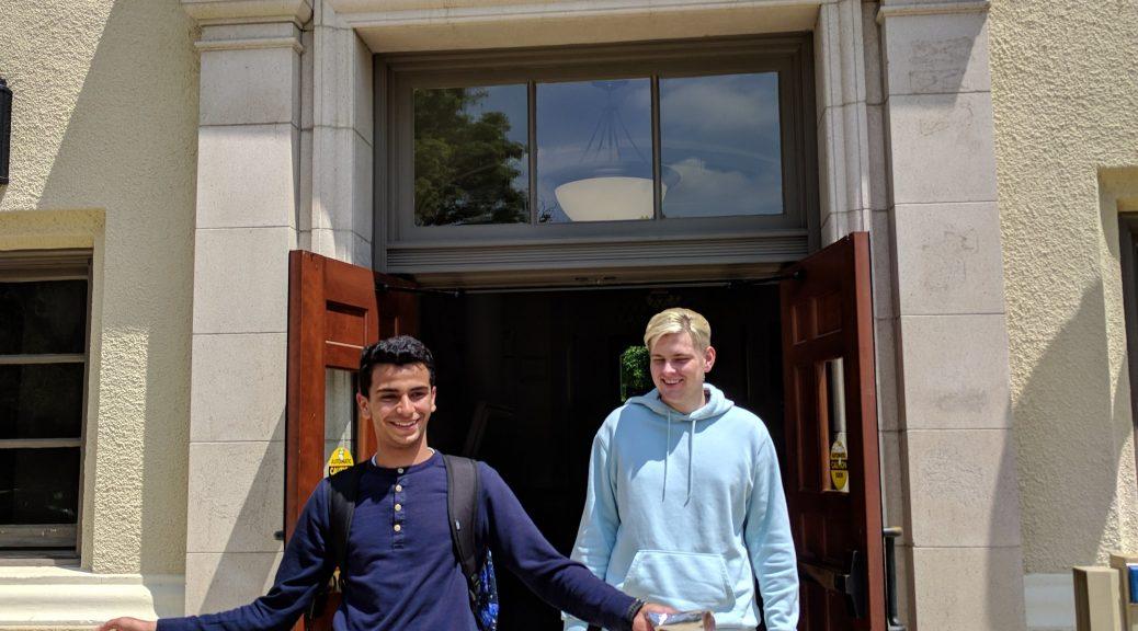 Alex and Marwan mastered C1