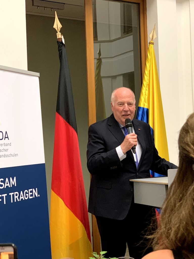 Grußworte zur Eröffnung von Herrn Detlef Ernst (Vorstandsvorsitzender des WDA)
