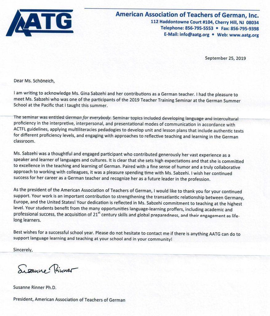 American Association of Teachers of German