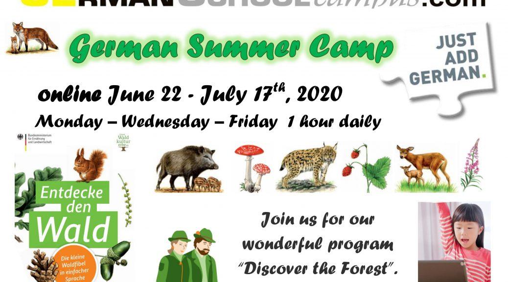 German school campus Summer Camp 2020