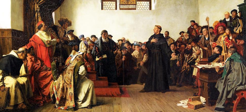 500 Year Martin Luther April 18, 1521