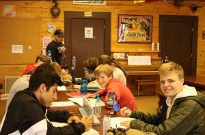 Ryan Raisrohani and Lucas Ruebsamen, who were among the Scholarship National German Exam Prizewinners.